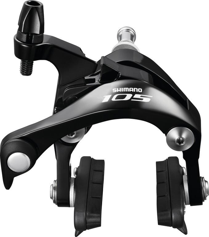 Silnic.brzda Shimano 105 BR 5800Pr.kolo, bez pácky, 49mm, cerná