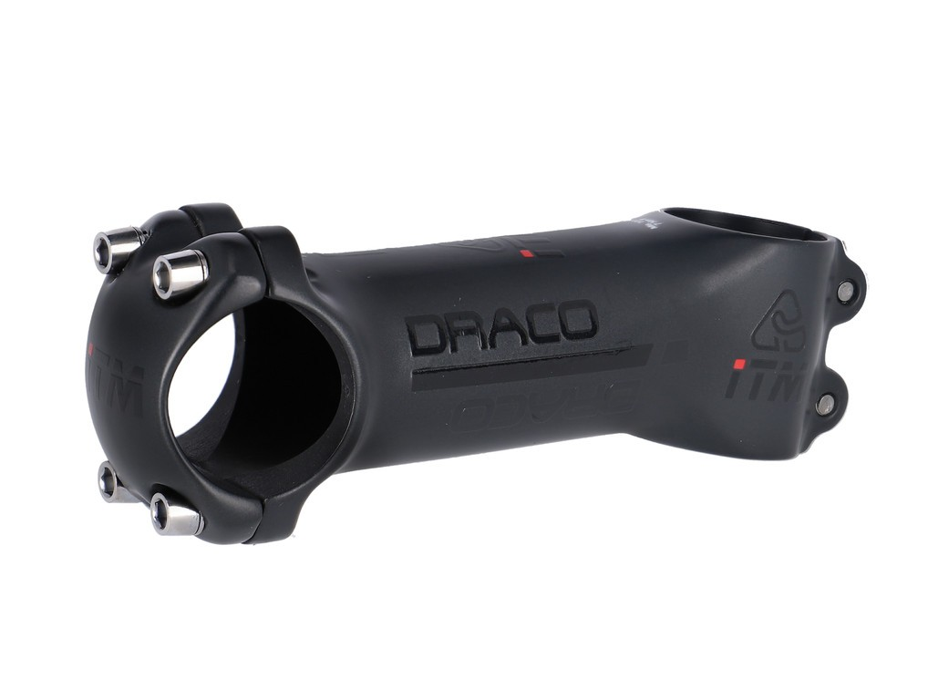 """A-Head Predstav.ITM A Draco cern.Alu7075 1 1/8"""",Ø31,8mm,10°,100mm,Carbon zabal."""
