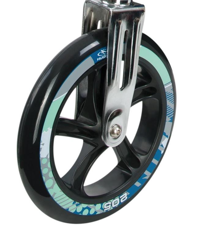 Kolečko Hudora Big Wheel 205 mm černá/petrol mod.14749