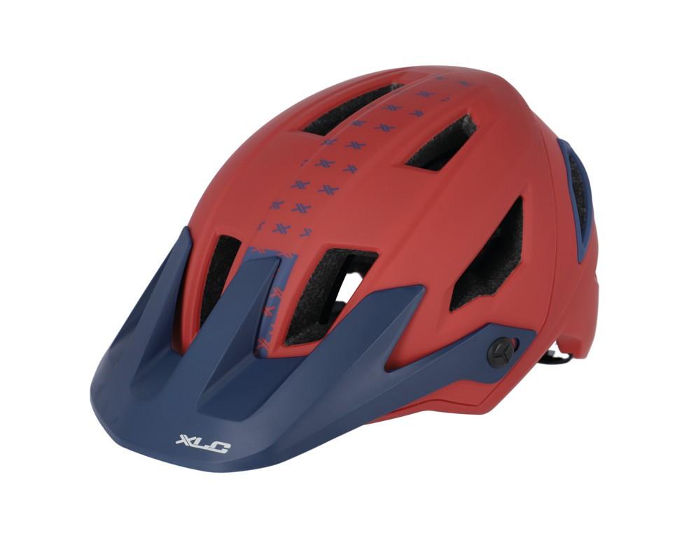 XLC BH-C31 červená/modrá (54-58 cm)