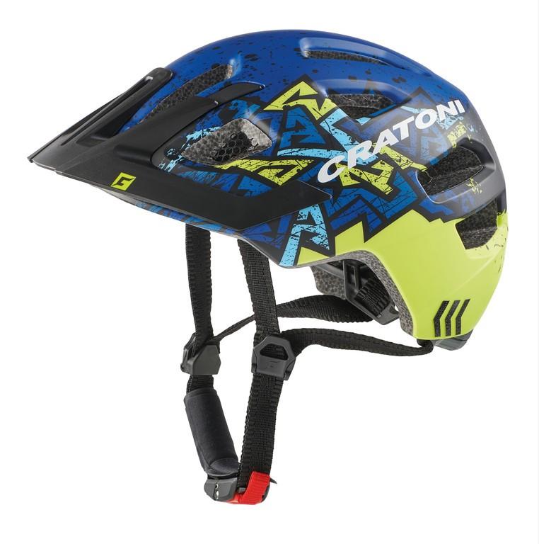 Cratoni Maxster Pro wild/modrá (51-56 cm)