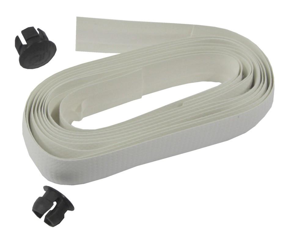 Polser-páska na ridítka -sada Carbonio, bílá - karbon. vzhled
