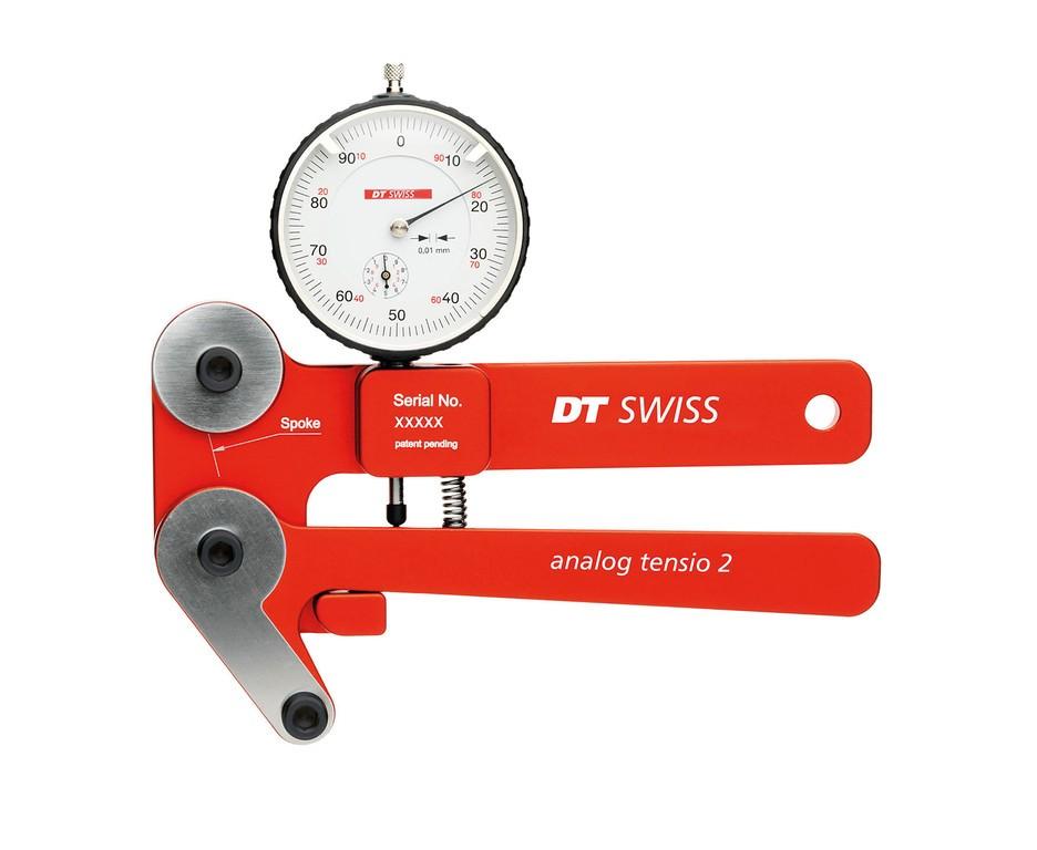 Tenzometr DT Swiss Analog rot 001/10mm TETTAXXR05500S