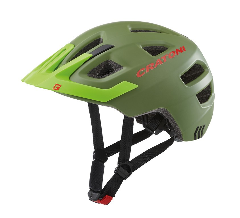Cratoni Maxster Pro (Kid), Vel. XS/S (46-51cm) jungle/zelená mat.