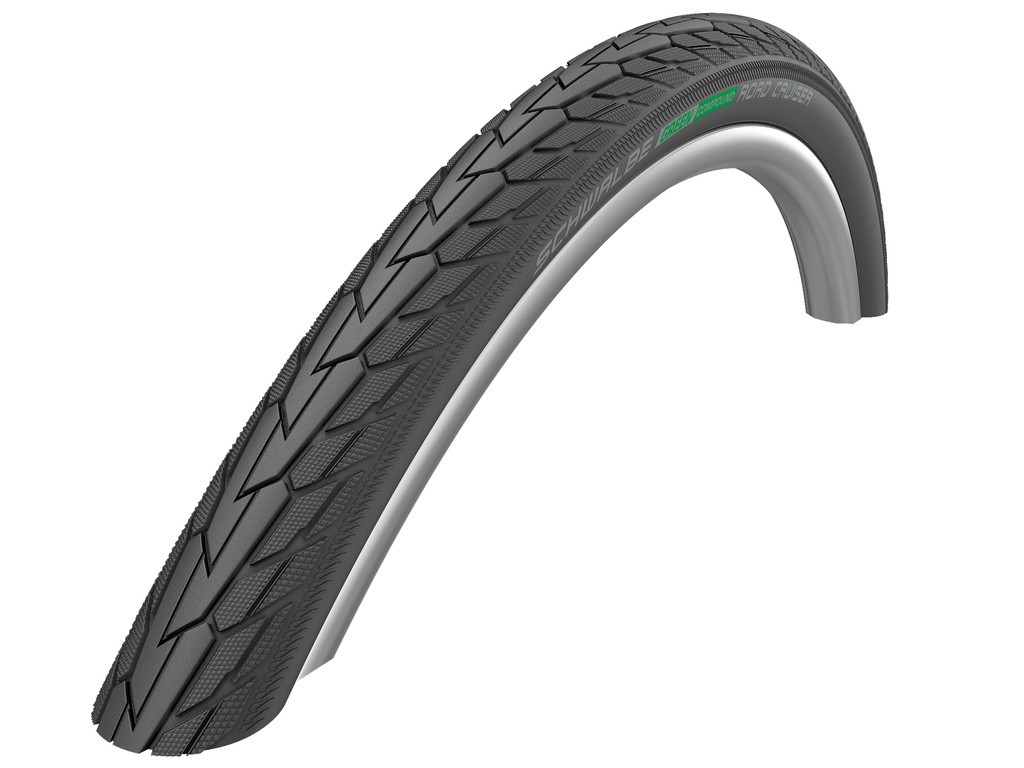 "Schwalbe Road Cruiser HS484 Green, 12x2.00""50-203 crn-TwinSkin KG Active GC"