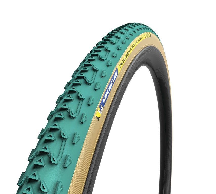 "Michelin Power Cyclocross Jet skl., 28"" 700x33C 33-622 zelená Tubular"