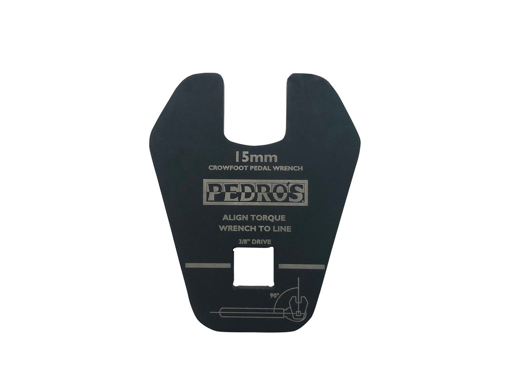 """Pedros Crowfoot Pedal Wrench 3/8"""""""