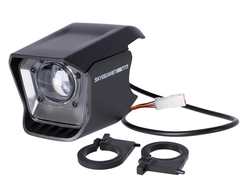 Svetlomet Haibike Skybeamer 300 AM, 100 lux, pro Flyon
