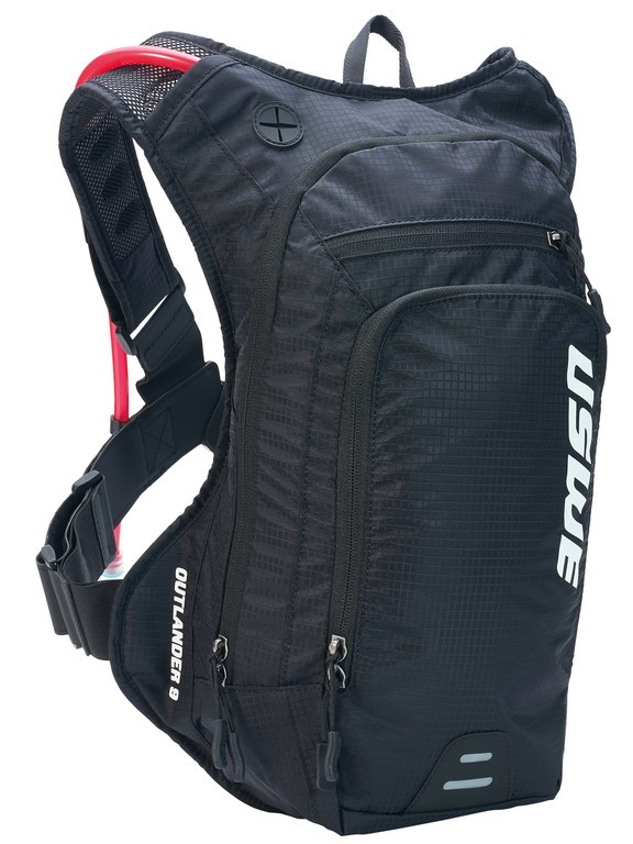 Nápojový ruksak USWE Outlander 9,carbon cerná
