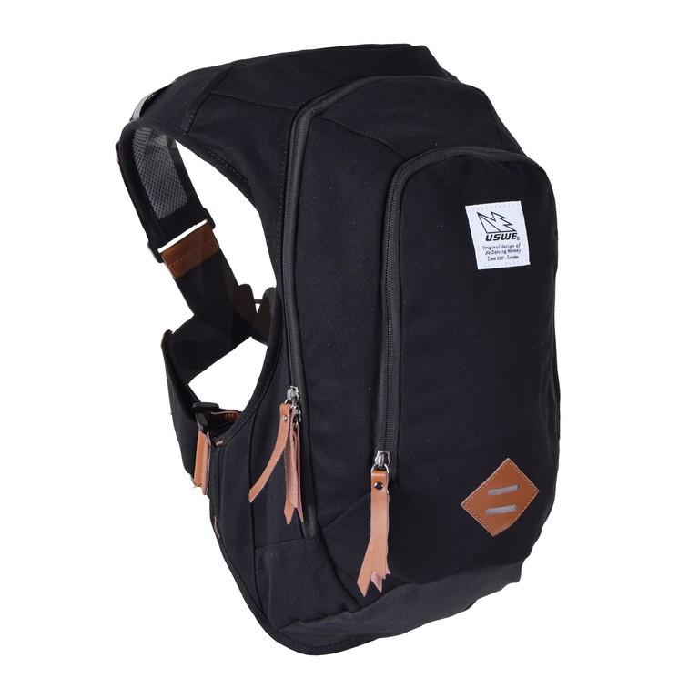 Commuter-ruksak USWE Scrambler 16,cerná bez rezervoáru na pití