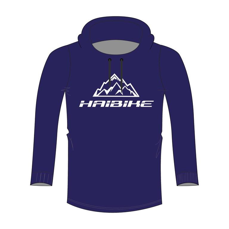 """Sweatshirt Haibike """"Till"""" - pánské, modrá, velikost XL"""