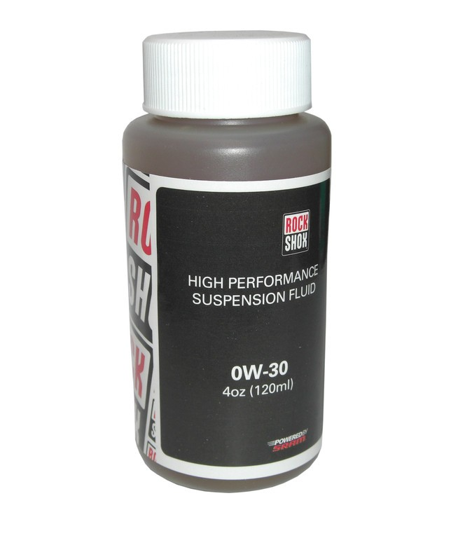 RockShox olej, 0W-30, 120ml láhev - Pike/Lyrik B1/Yari do spodních nohou