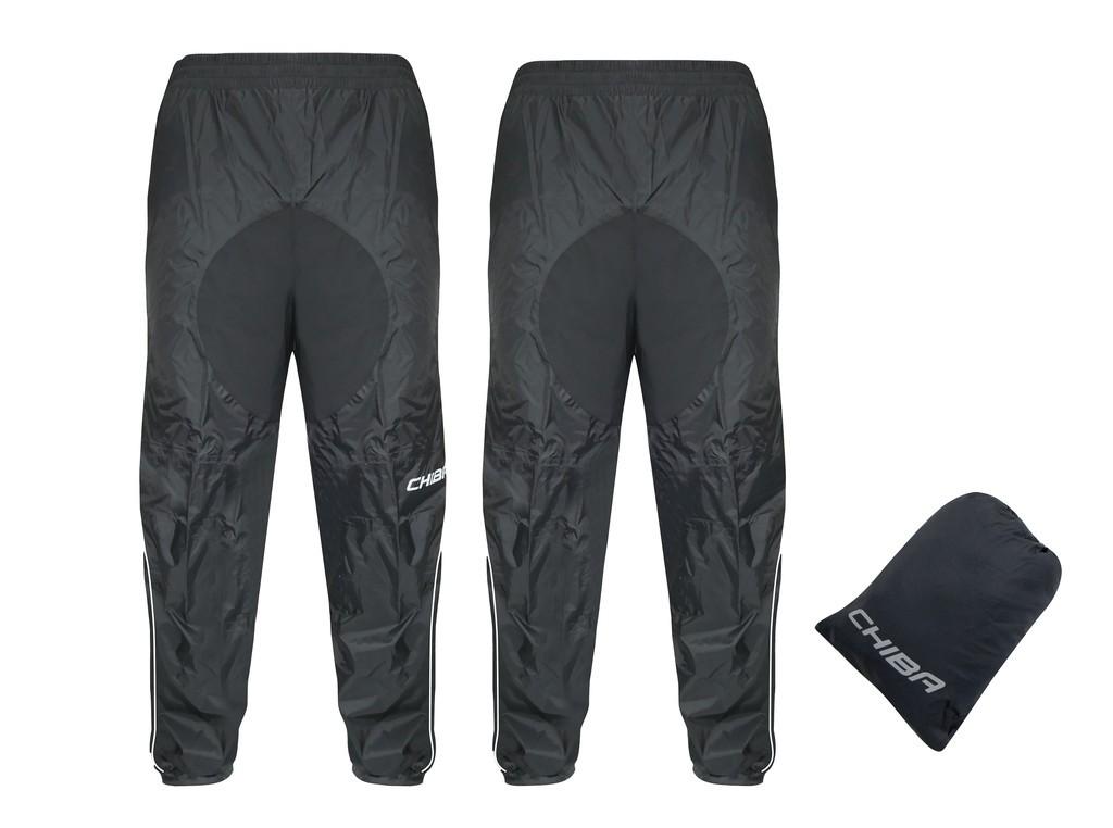 Chiba Techn.kalhoty do deštevel. XL, černá