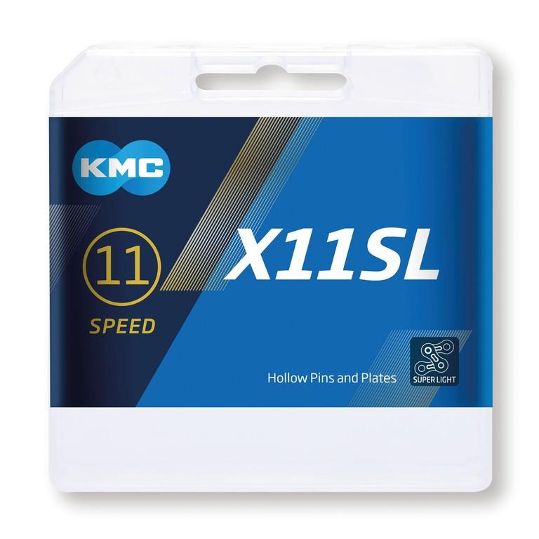 KMC X11SL 118 článku stříbrný