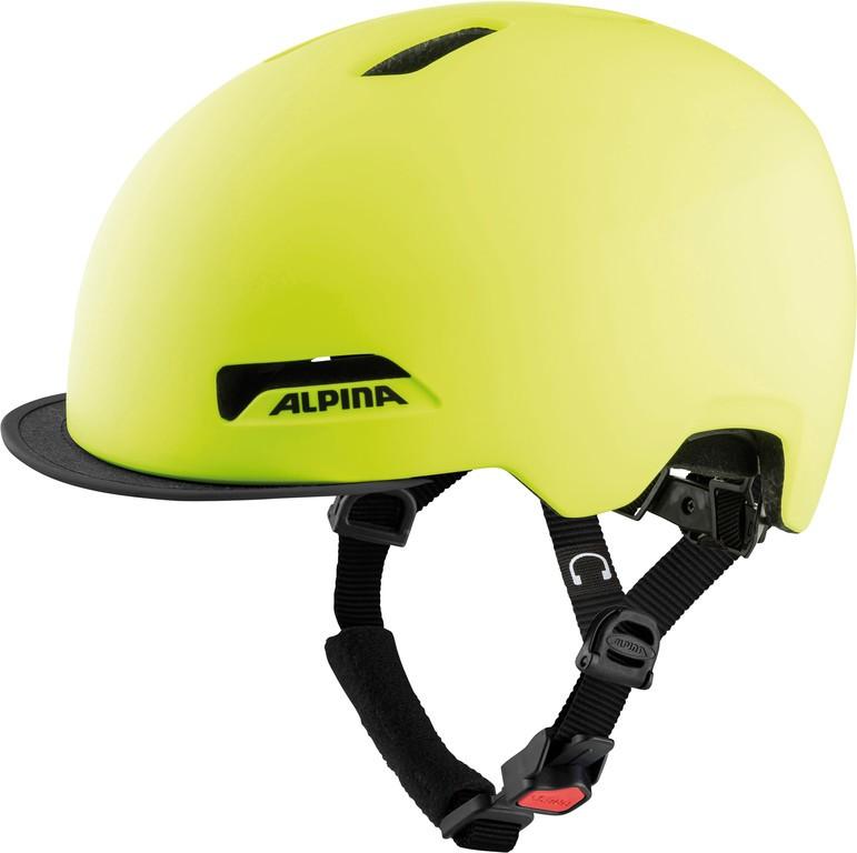 Cykl.helma Alpina Brooklyn be visible mat. vel.52-57cm