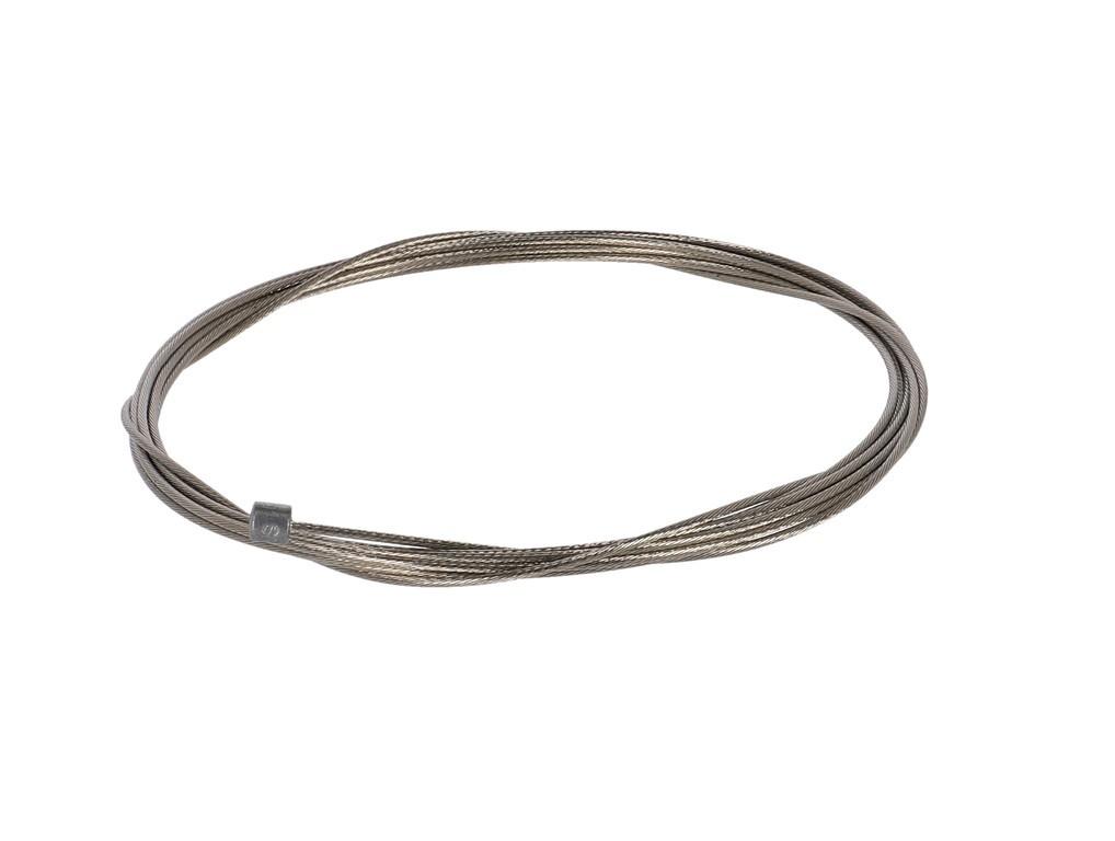 1.1 Radící lanko Sram Slick Wire Single 2300mm,Road/MTB,stríbrná