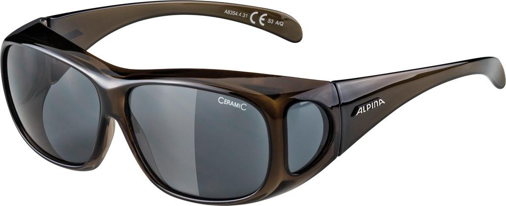 Slunecní brýle Alpina Overview, Obroucky cerná skla cerná