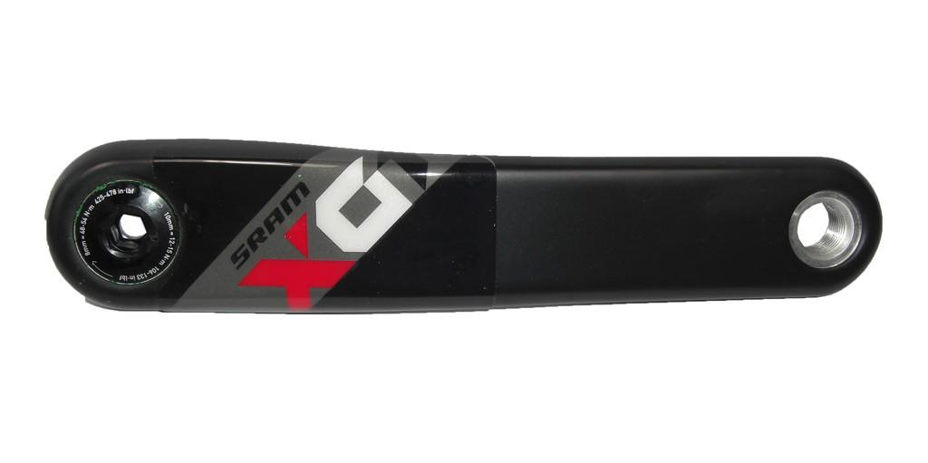 Rameno kliky X01 Eagle GXP 175mm, 11.6118.056.002,levá,cervená
