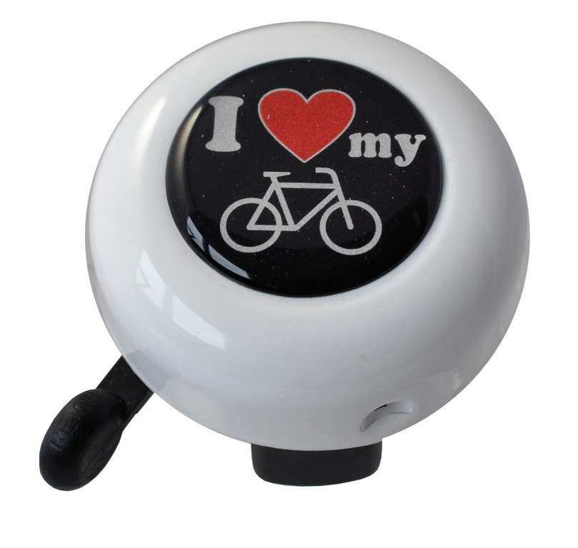 Reich Motive I love my bike bílá