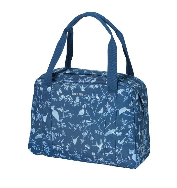 Taška na rameno Basil Wanderlust indigo-modrá, 39x13,5x30cm
