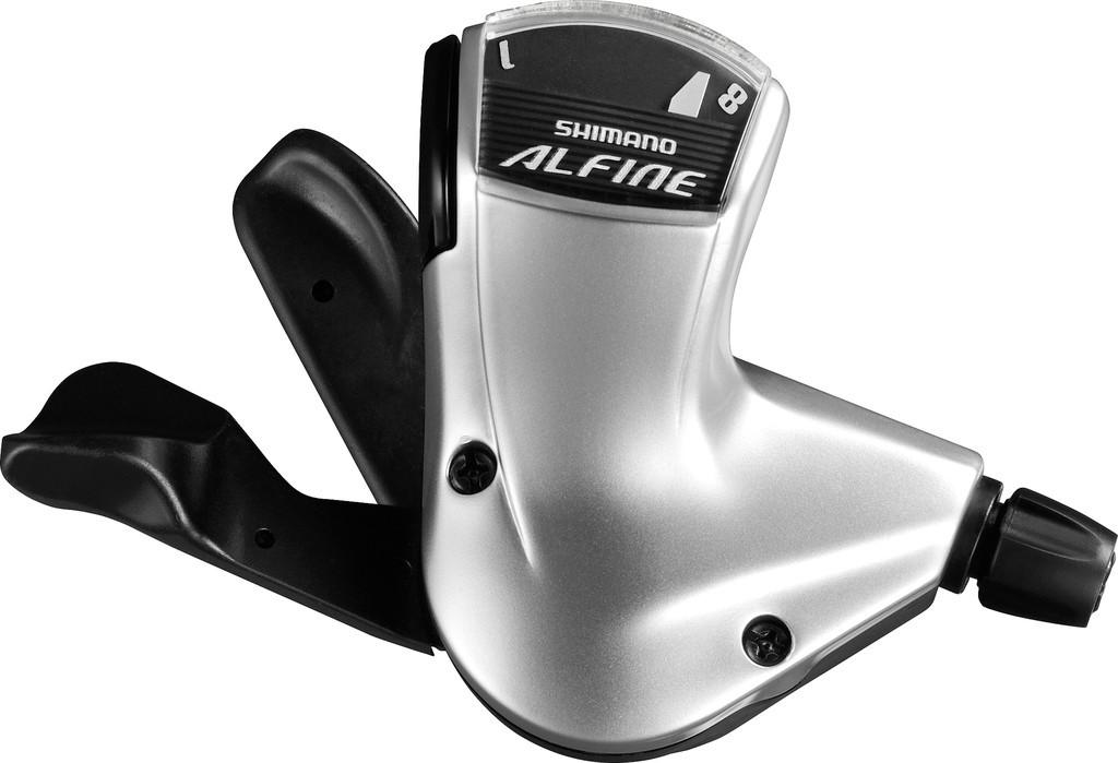 Radící pácka Shimano Alfine SLS700088-st., 2100mm, stríbrná, Rapidfire