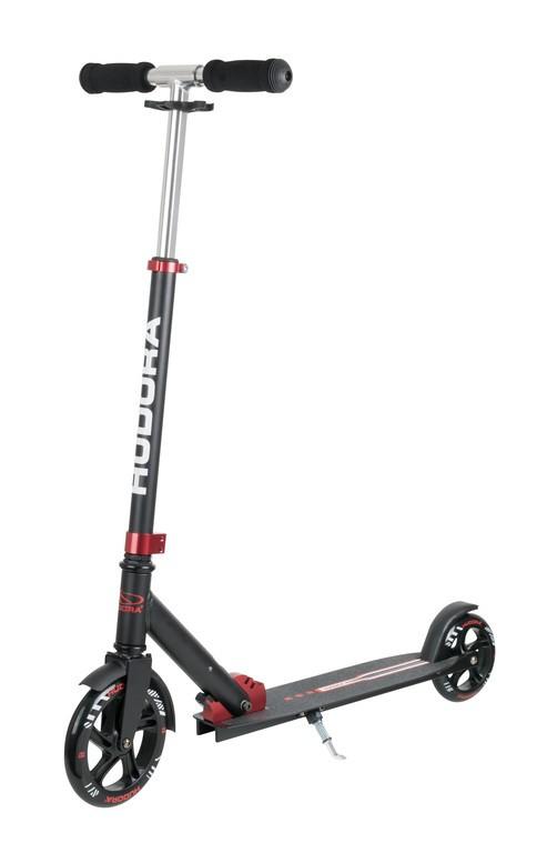 Koloběžka Hudora Bold Wheel L 180/145 červená/černá