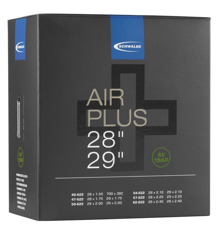 "Duše Schwalbe AV 19AP Air Plus, 29/29+"" 54/65-622 IB AGV 40mm"