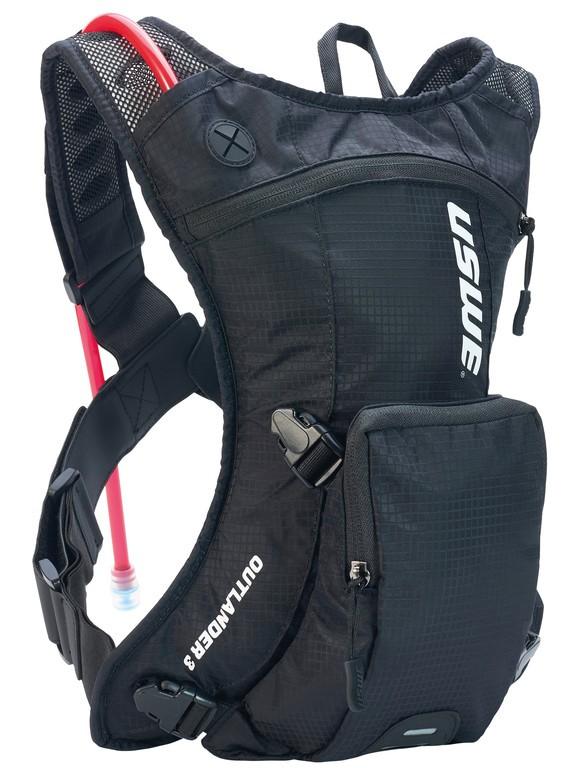 Nápojový ruksak USWE Outlander 3,carbon cerná