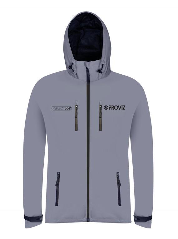 Proviz REFLECT360 Outdoor bunda pánská plne reflexní/šedá, vel. XS