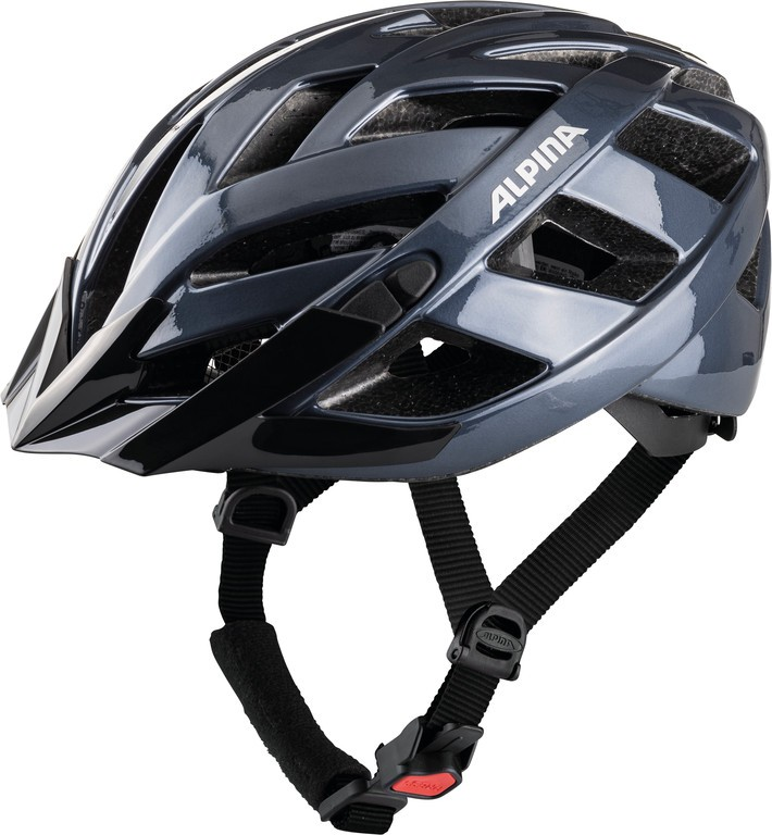 Cyklistická helma Alpina Panoma Classic, fialovo-modrá vel.52-57