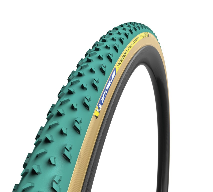 "Michelin Power Cyclocross Mud skl., 28"" 700x33C 33-622 zelená Tubular"