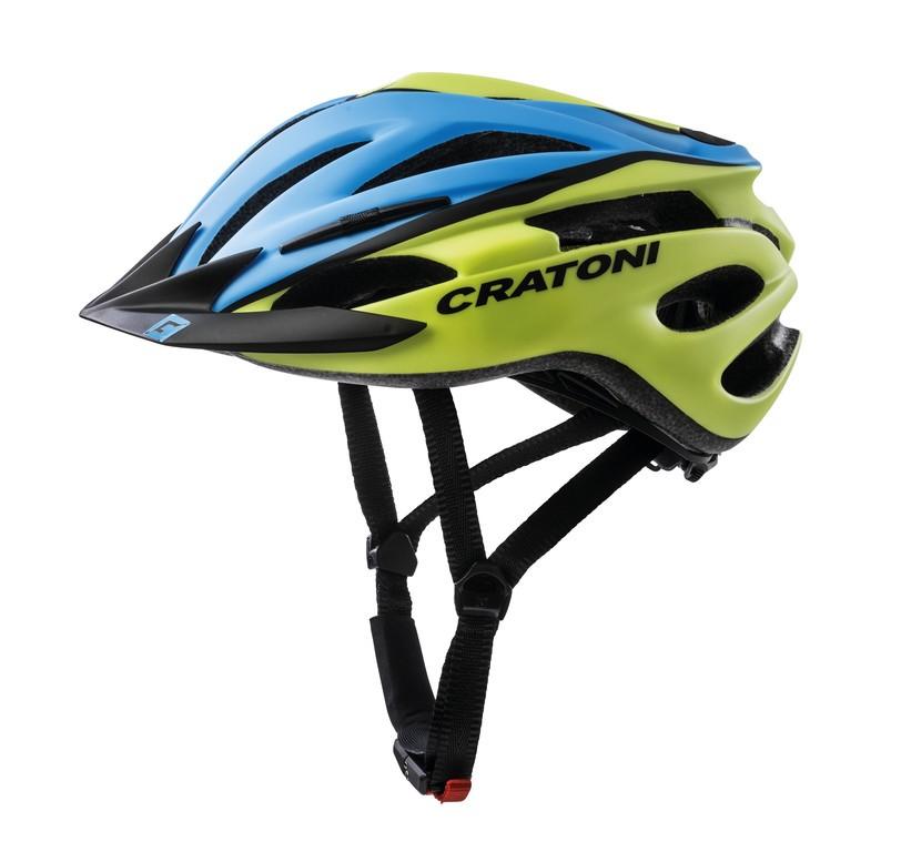 Cykl.helma Cratoni Pacer (MTB), vel.XS/S (49-55cm) modrá/lime matná