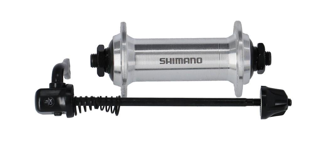Prední náboj Shimano HB-TX 500100mm, 36 der, stríbrná, rychloupínák