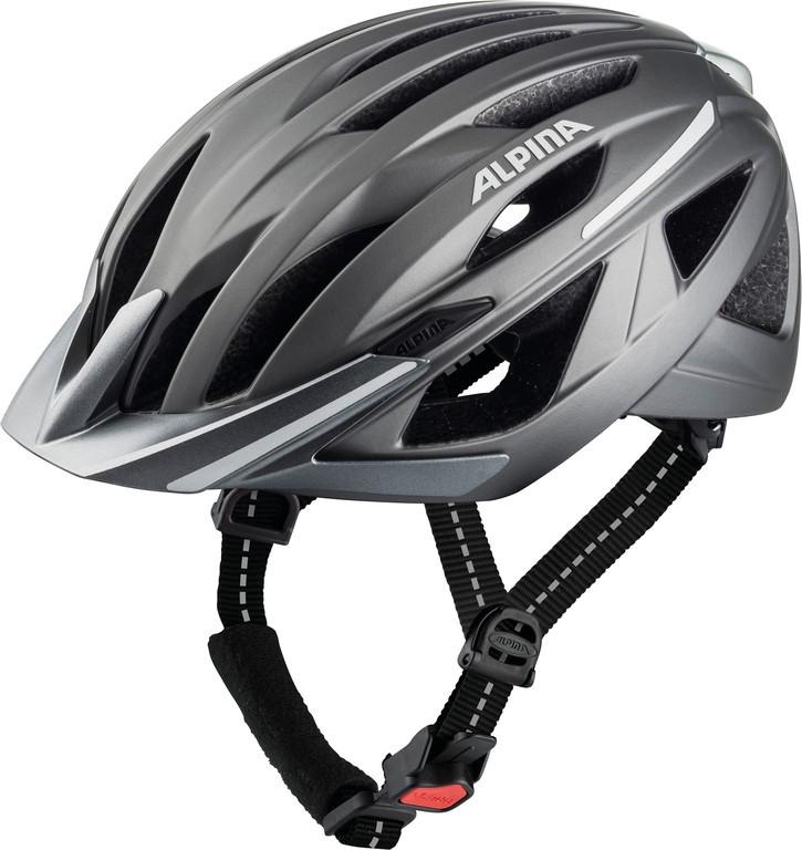 Cykl.helma Alpina Haga, tm.stríbrná mat. vel.51-56