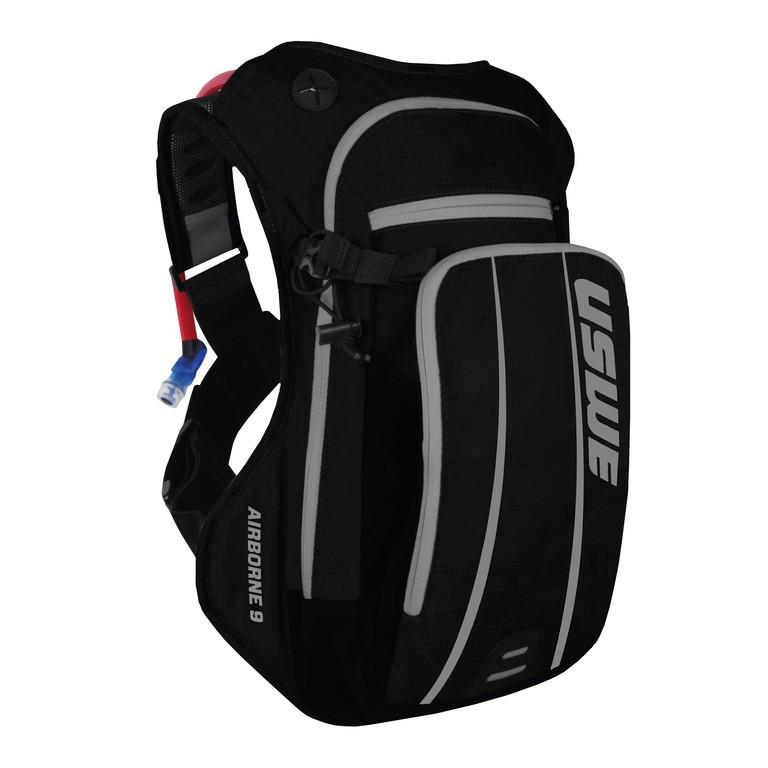 Nápojový ruksak USWE Airborne 9,cerná/šedá