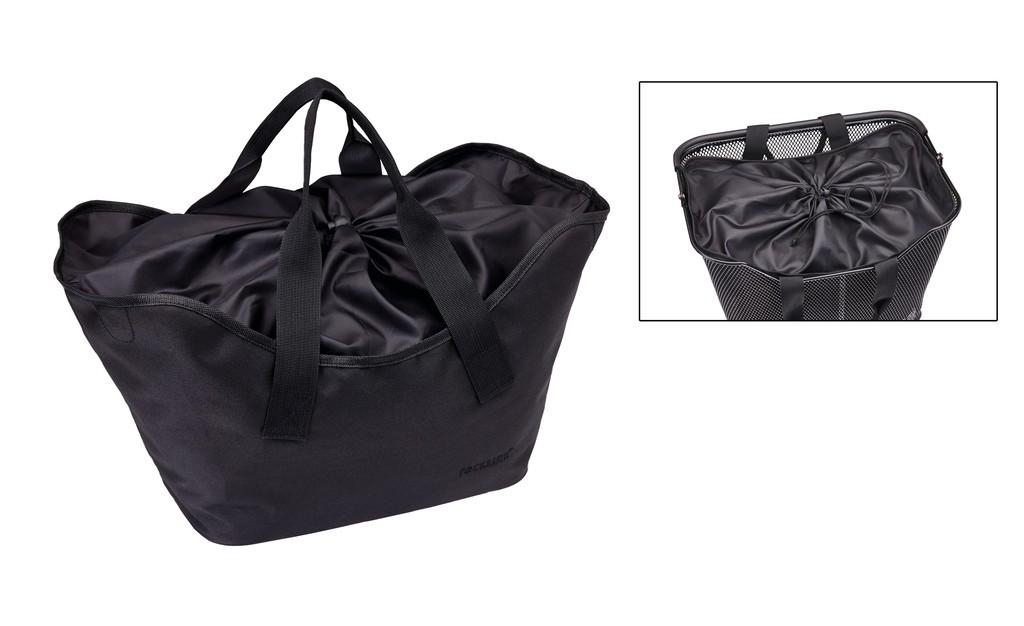 Vnitrní taška pro koš Racktime Lea, 24x30x22cm, 16l, cerná