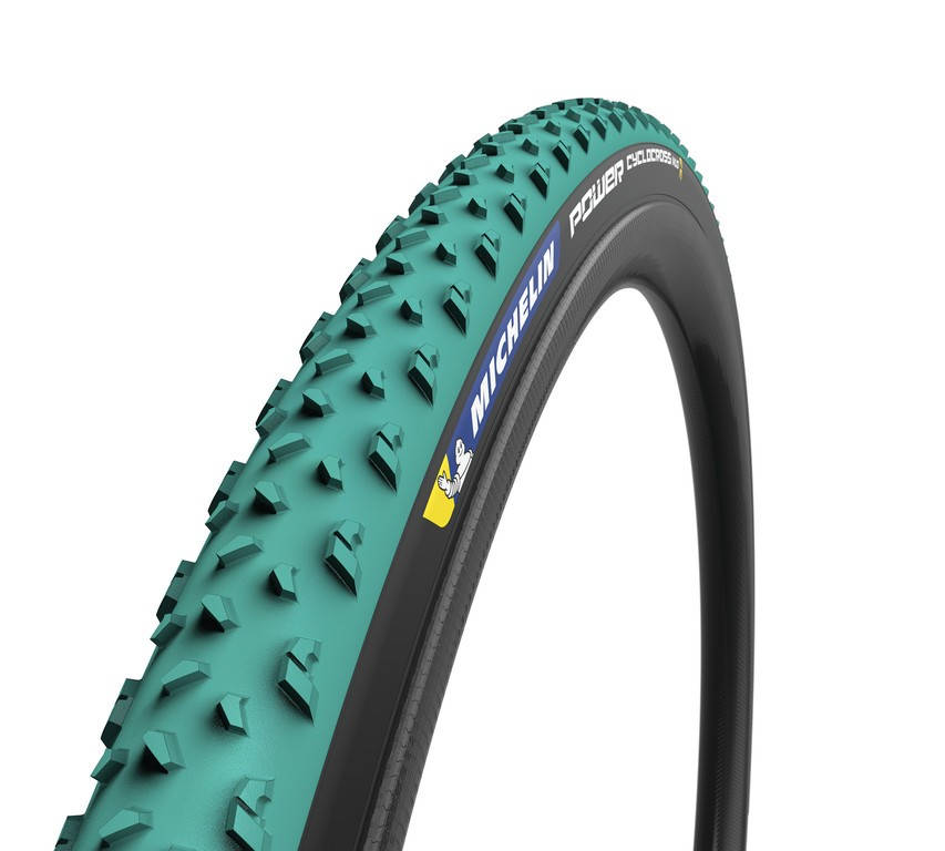 "Michelin Power Cyclocross Mud skl., 28"" 700x33C 33-622 zelená TL-Ready"