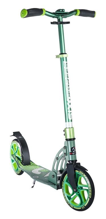 Six Degrees Scooter Al SG zelená