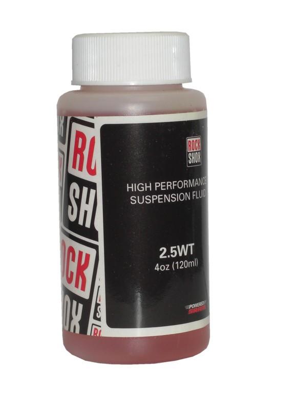 RockShox olej, 2.5wt, 120ml láhev