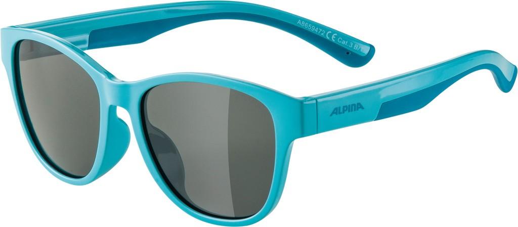Slunecní brýle  Alpina FlexxyCool Kids I Obroucky tyrkys sklo cerná