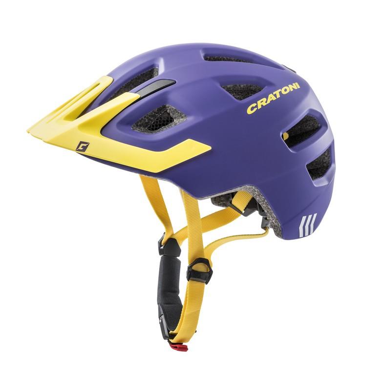 Cratoni Maxster Pro lila/žlutá vel.46-51cm