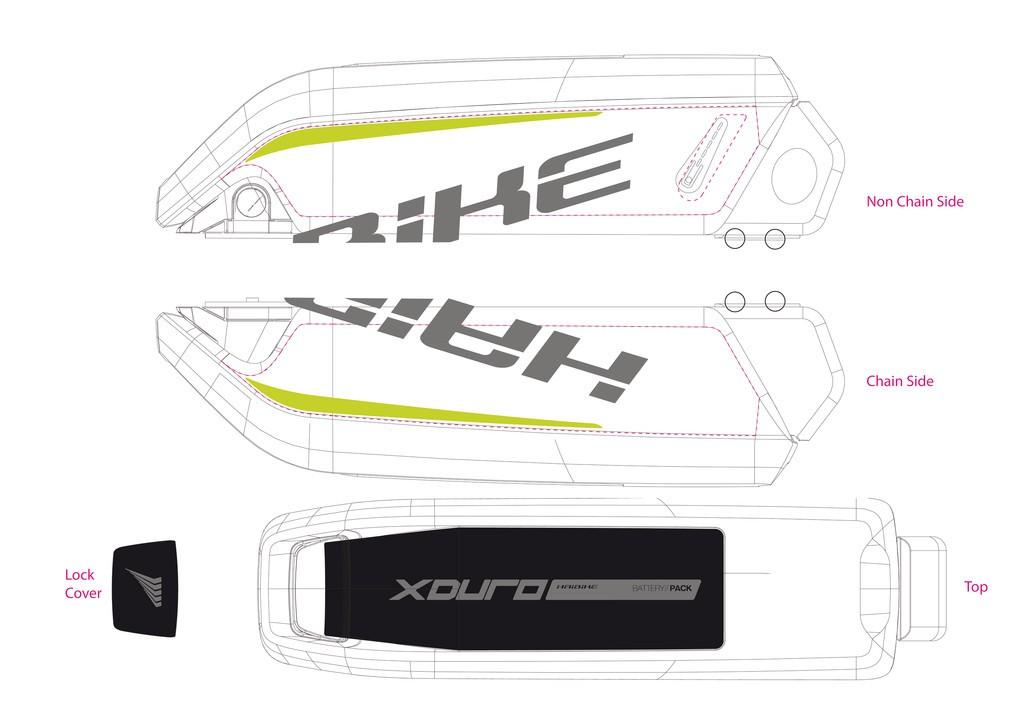 Haibike Xduro pro baterii 2015 šedá/zelená