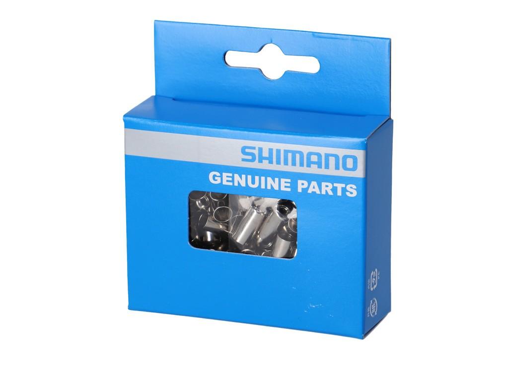Koncovka Shimano obalu brzdového lankaØ 6mm, vnitrníØ 5,1 mm 1 karton a 100 ks