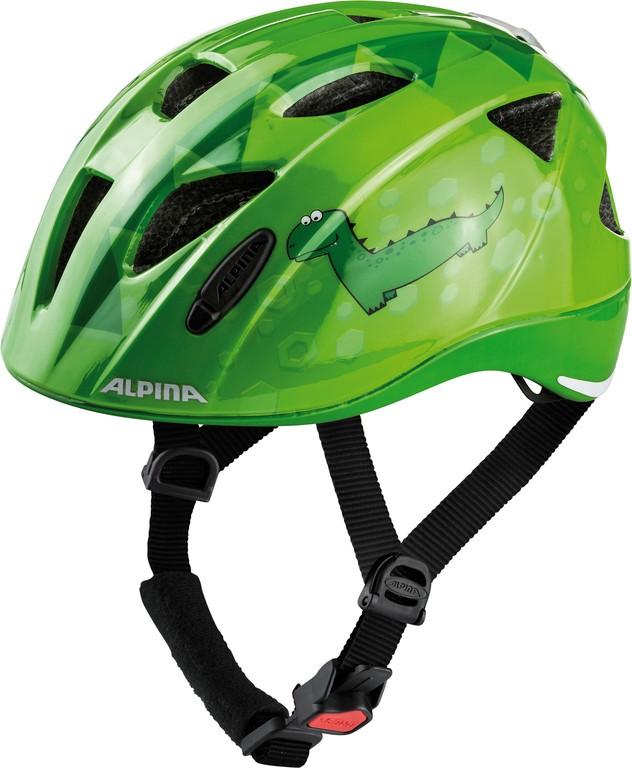 Alpina Ximo Flash zelený dino (45-49 cm)