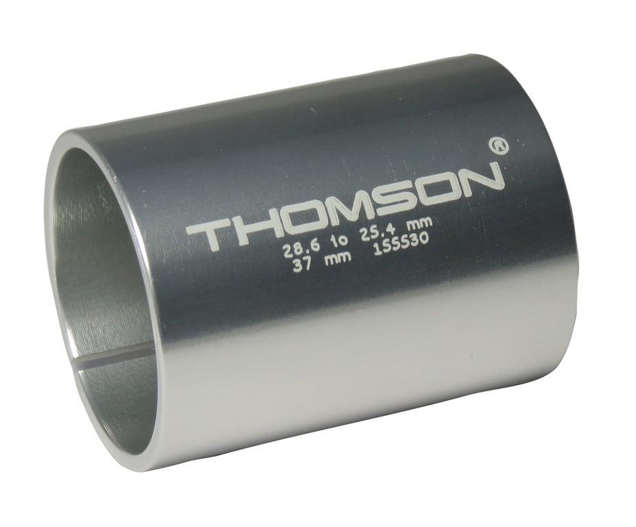 """Redukcní pouzdro Thomson cerná 37mm p. A-Head predstavec 1.1/8"""" na 1""""vidlici"""