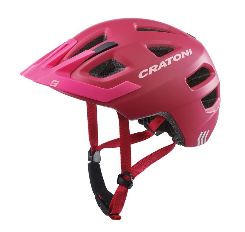 Cratoni Maxster Pro (Kid), Vel. XS/S (46-51cm) ružov./rose mat.