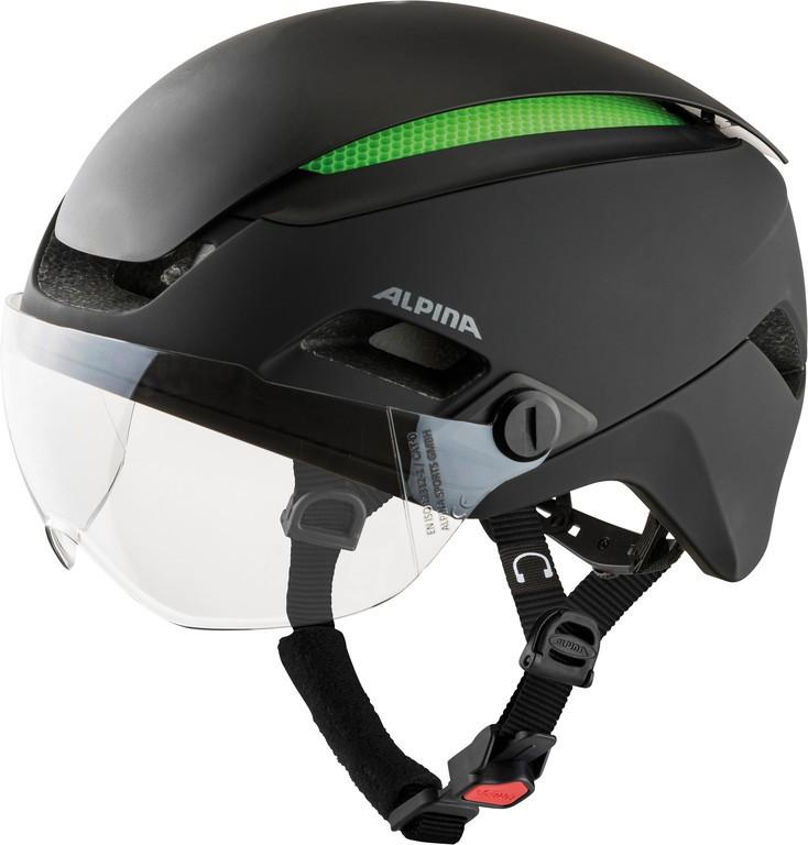 Cykl.helma Alpina Altona M cerná mat. vel.52-57cm