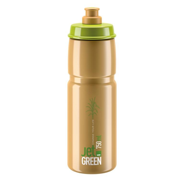 Láhev Elite Jet Green, 750ml, zelená/hnedá