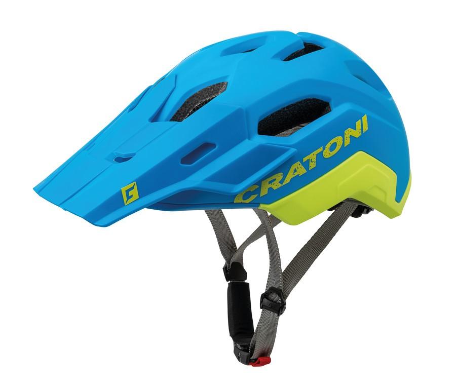 Cratoni C-Maniac 2.0 Trail, Vel. M/L (54-58cm) modrá/limet. mat.