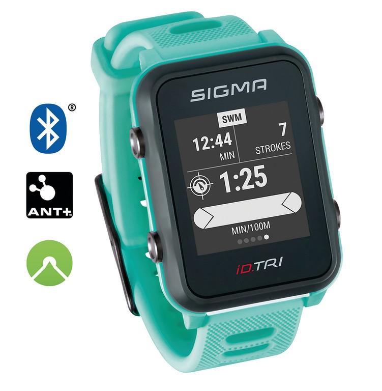 Sport. hodinky Sigma ID Tri Basic neon.mentol.